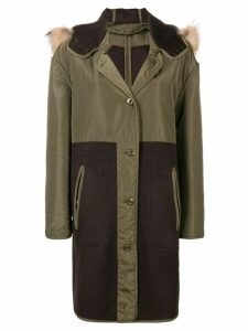 P.A.R.O.S.H. hooded parka coat - Green
