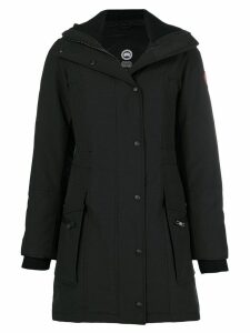 Canada Goose hooded parka - Black