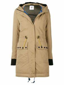 Rossignol hooded parka coat - Brown