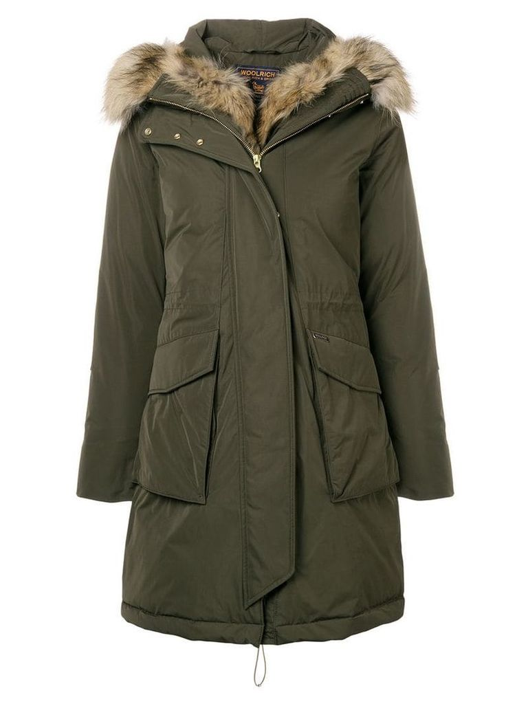 Woolrich Military parka coat - Green