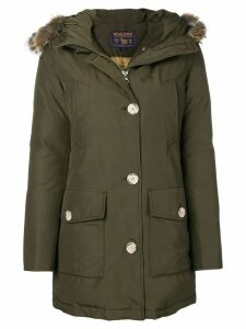 Woolrich padded fur parka - Green