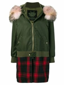 Mr & Mrs Italy regular fit parka - Green