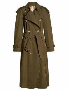 Burberry The Long Westminster Heritage Trench Coat - Green