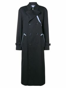 Maison Margiela long-sleeved waterrepellent trenchcoat - Black