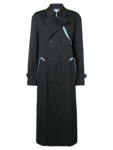 Maison Margiela long-sleeved waterrepellent trenchcoat - Black