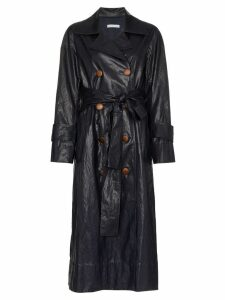 Rejina Pyo double breasted trench coat - Blue