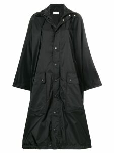 Balenciaga Opera raincoat - Black