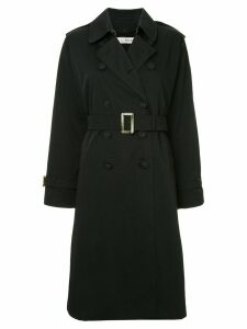 Tu es mon TRÉSOR Liberty Equality trench coat - Black