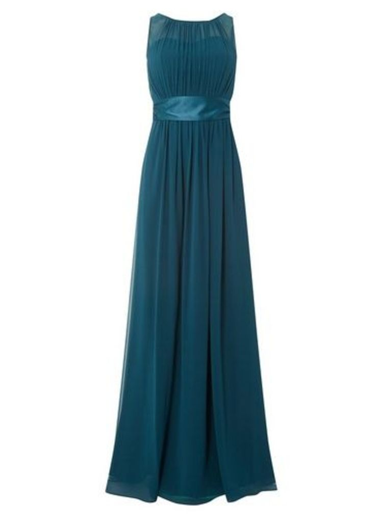 Womens **Showcase Tall Forest Green 'Natalie' Maxi Dress- Green, Green