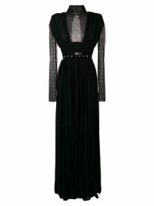 Philosophy Di Lorenzo Serafini lace panel evening dress - Black
