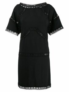 Dsquared2 lace insert dress - Black