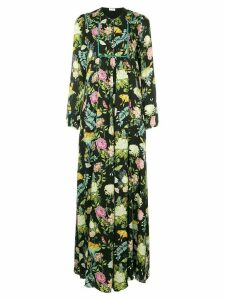 Vilshenko floral and butterfly gown - Multicolour