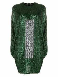 Gianluca Capannolo sequined dress - Green