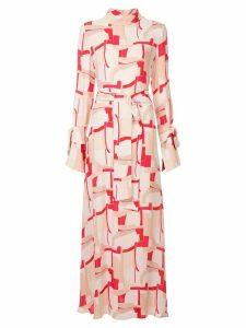 Layeur longsleeved empire line dress - PINK