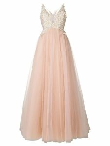 Loulou embellished tulle princess gown - Pink