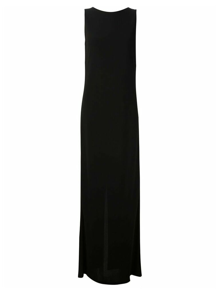 Maison Margiela open back maxi dress - Black