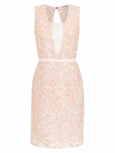 Tufi Duek lace tube dress - Pink