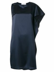 Gianluca Capannolo one shoulder dress - Blue