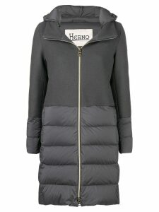 Herno padded hooded coat - Grey