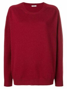 P.A.R.O.S.H. loose fit jumper - Red