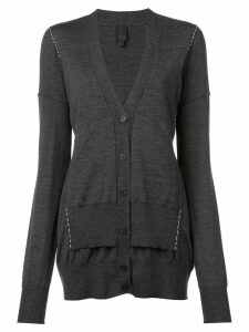 Vera Wang long sleeved cardigan - Grey