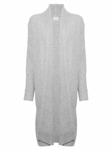 Le Kasha Bermuda long cardigan - Grey