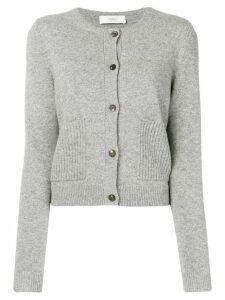 Pringle Of Scotland button fitted cardigan - Grey