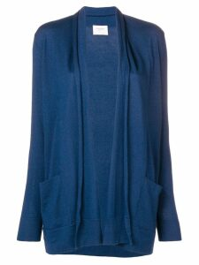 Snobby Sheep buttonless cardigan - Blue