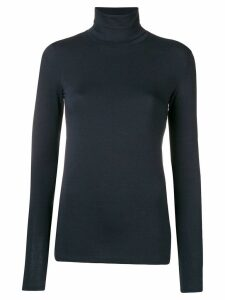 Majestic Filatures roll-neck top - Blue