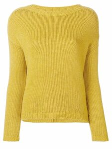 Aragona round neck jumper - Yellow