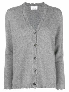 Allude v-neck jumper - Grey