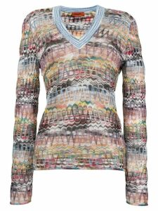 Missoni v-neck jumper - Neutrals