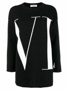 Valentino VLTN logo sweater - Black
