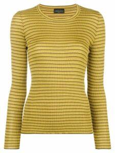 Roberto Collina striped jumper - Green