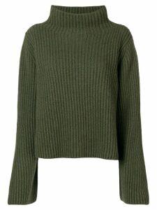 Stella McCartney ribbed knit jumper - Green