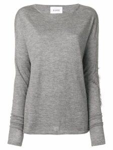 Barrie Sweet Eighteen cashmere round neck pullover - Grey