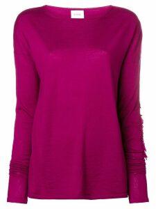 Barrie Sweet Eighteen cashmere round neck pullover - Pink
