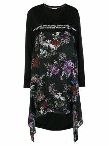 Each X Other asymmetric hem sweatshirt - Black