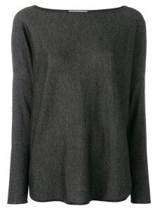 Snobby Sheep boat neck jumper - Grey