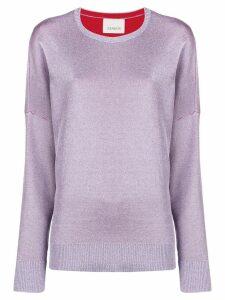Laneus loose fit jumper - Pink