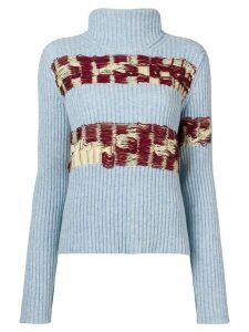 Calvin Klein 205W39nyc open knit sweater - Blue