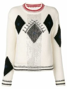 Ermanno Scervino embellished jumper - White
