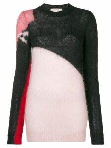 1017 ALYX 9SM colour block knit sweater - Black