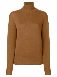 Theory cashmere turtleneck sweater - Brown