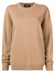 Dsquared2 oversized sweater - Brown