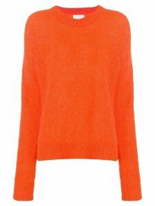 Laneus crew neck sweater - Orange
