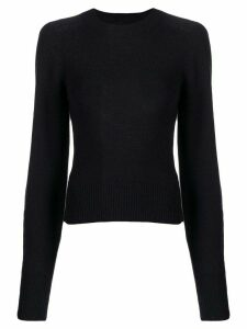 Isabel Marant crewneck fine knit sweater - Blue