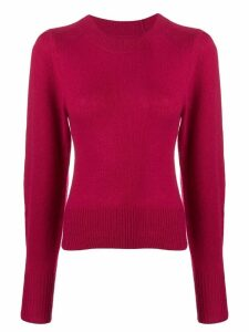 Isabel Marant fitted crewneck sweater - Pink