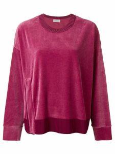 Moncler logo sweater - Pink