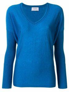 Snobby Sheep v-neck sweater - Blue